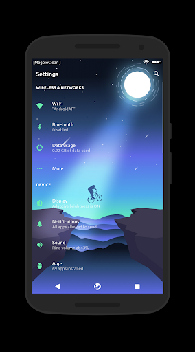 [substratum] Magpie Clear For PC