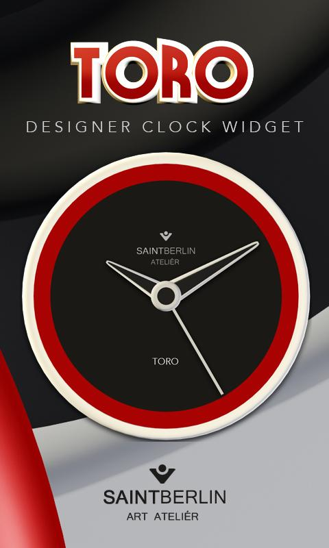 Toro Clock Widget Screenshot 0