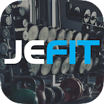 JEFIT Workout Tracker, Weight Lifting, Gym Planner Icon