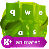 App Green Animated Keyboard 1.0.3 APK for iPhone