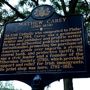An Irish Catholic who emigrated to Philadelphia in 1784, Carey was a prominent printer and publisher and prolific writer. He was an influential political economist and nationalist, promoting the ...