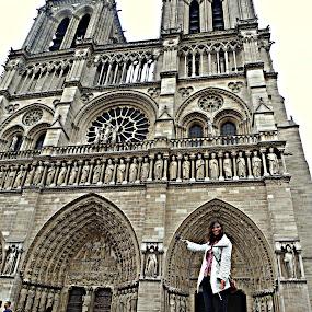 Notre Dame by Claudia Romeo - City,  Street & Park  Historic Districts ( paris, notre dame )