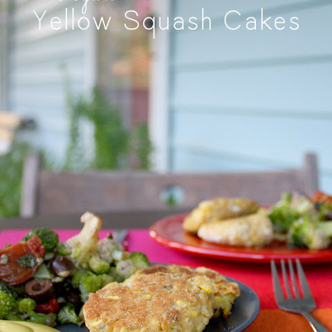 Vegan Yellow Squash Patties