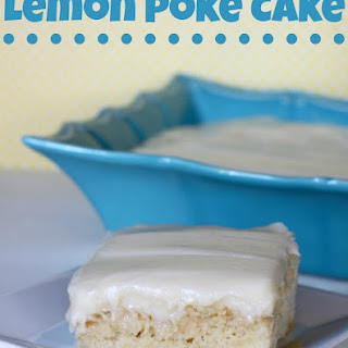 Lemon Poke Cake #BrunchWeek