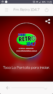 Retro Fm 104.7 - screenshot