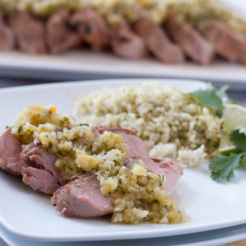 Grilled Pork Tenderloin with Pineapple and Anaheim Chili Salsa