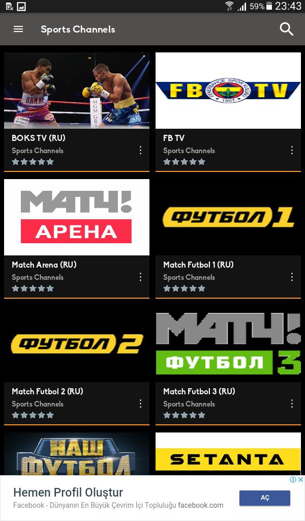 Mobil Android TV Screenshot 7