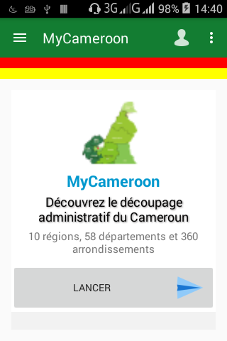 android MyCameroon Screenshot 0