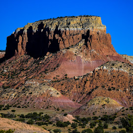 Georgia's Painted Hills by Ally Skiba - Landscapes Mountains & Hills ( clay hills, hills, explore, cliffs, painted, colorful, erosion, o'keeffe country, sandstone, landscape, hiking, new mexico, georgia o'keeffe, nature, ghost ranch )