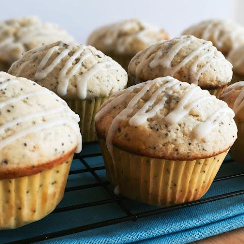 Lemon & Poppy Seed Spelt Muffins Recipe | Yummly