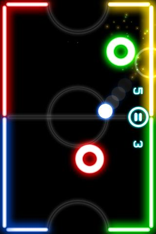 Glow Hockey screenshot 2