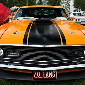 Big Bad Mean Tang by Stéphane Vaillancourt - Transportation Automobiles ( car, granby, mustang, exposition, voitures anciennes, quebec, automobile )
