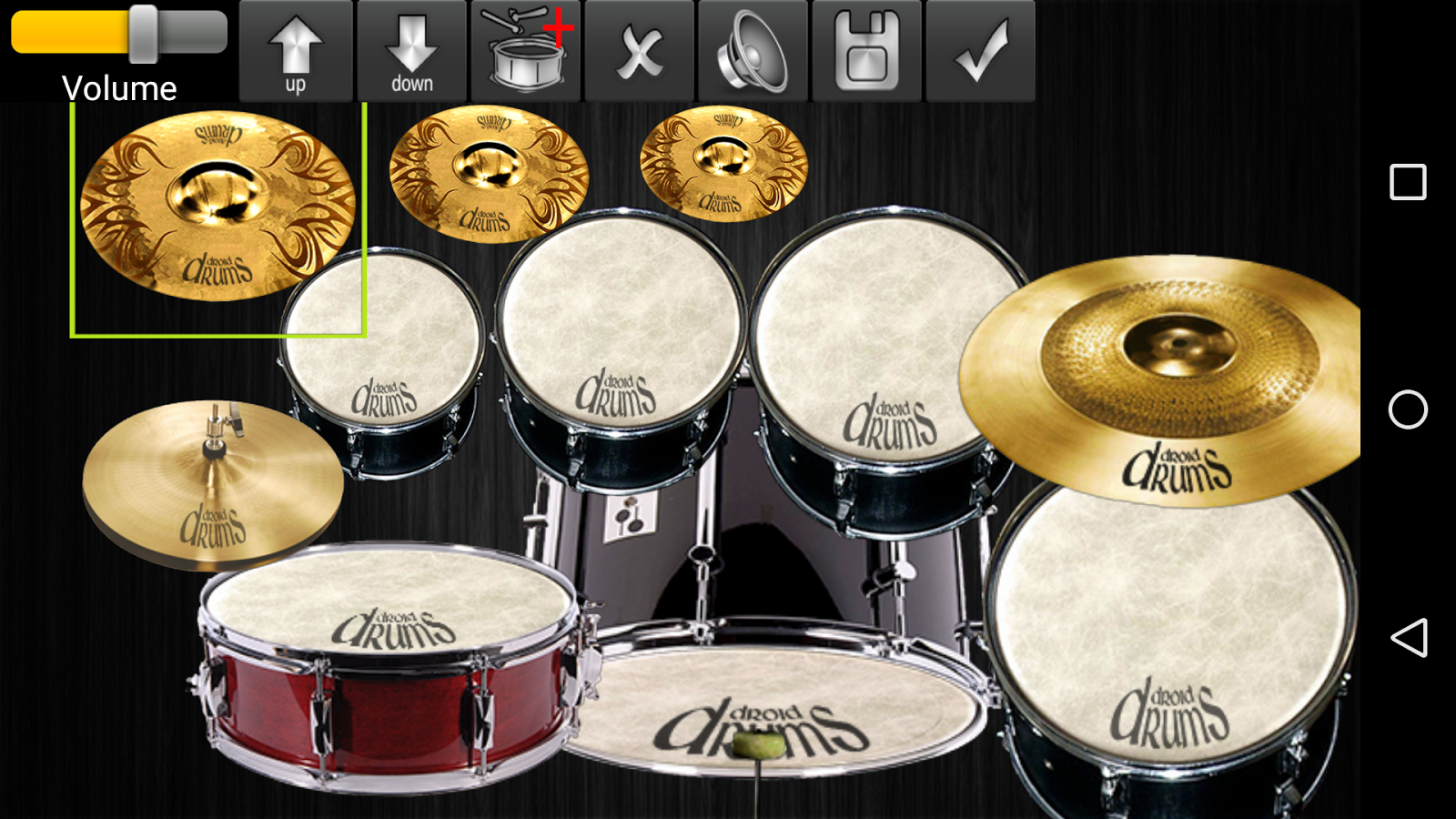 Drums Droid HD 2016 Screenshot 3