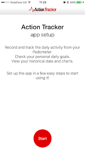Activity action tracker Fitness app screenshot for Android