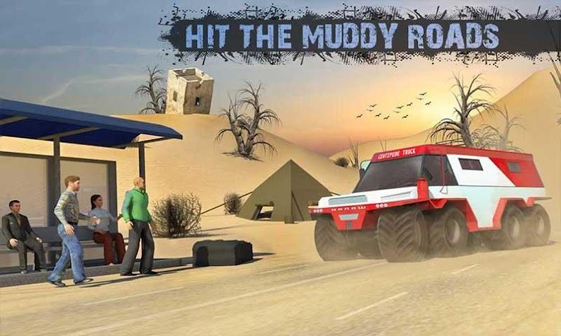 8x8 Spin Tires Offroad Mud-Runner Truck Games 2018 Screenshot