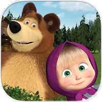 Masha and the Bear. Educational Games on PC / Windows 7.8.10 & MAC