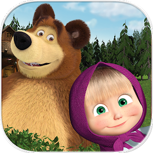 Masha and the Bear. Educational Games PC Download / Windows 7.8.10 / MAC