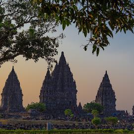 Prambanan Temple by Ernasto Elmend Anatoly - Buildings & Architecture Places of Worship ( temple, candi, historical, prambanan )
