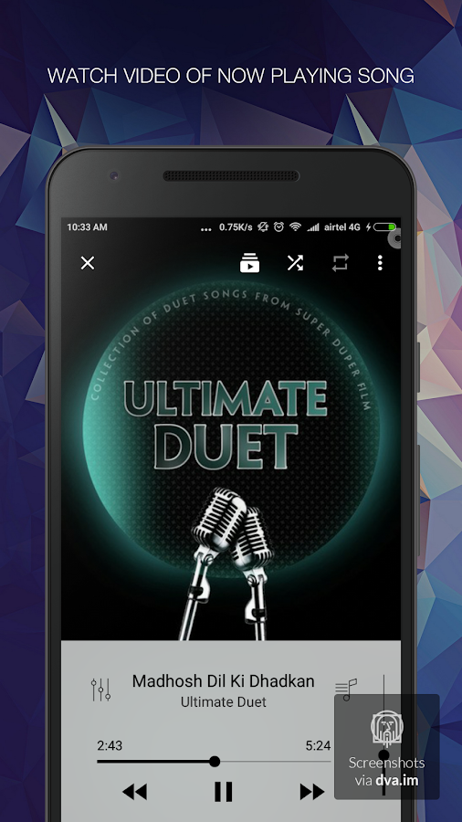 Music Player - mPlay Pro Screenshot 2