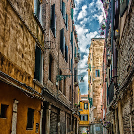 Venice corner by Antonello Madau - City,  Street & Park  Historic Districts