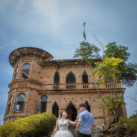 you are mine~ by JO Leong - Wedding Bride & Groom