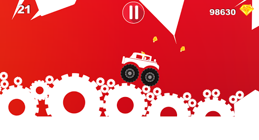 Hill Racing:jeep uphill racing - screenshot