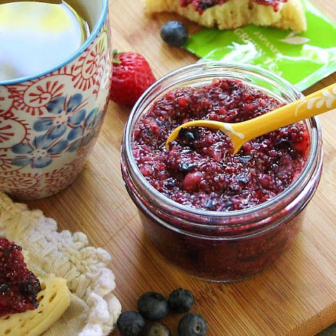 All Natural Mixed Berry Chia Jam