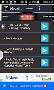 Educational Radio - screenshot