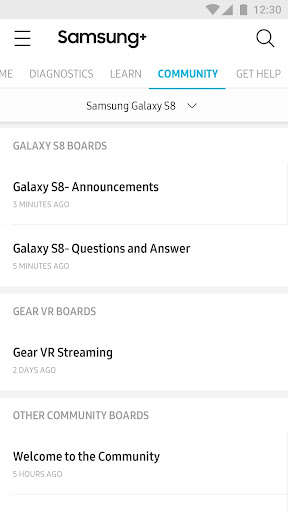 Samsung+ screenshot 4