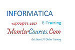 Informatica 10 Online Training at Monstercourses.com