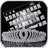 Diamond Crown Keyboard Theme APK for iPhone