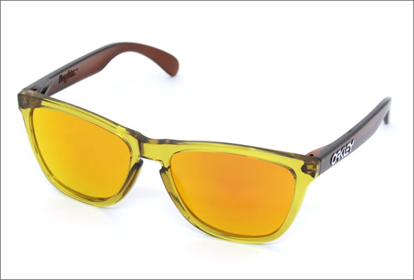 オークリー サングラス OO9013-39/Frogskins BROWN FIRE IRIDIUM