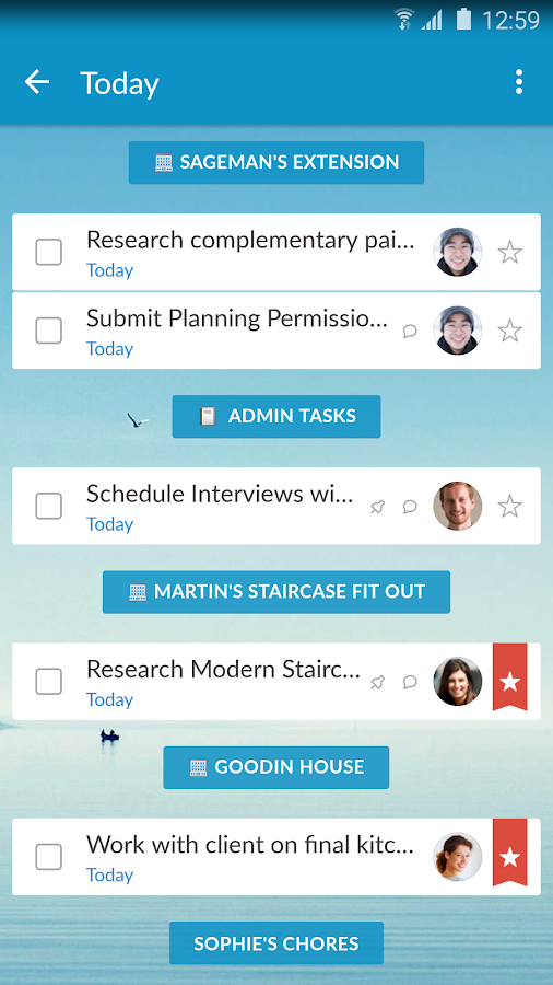 Wunderlist: To-Do List & Tasks Screenshot 1