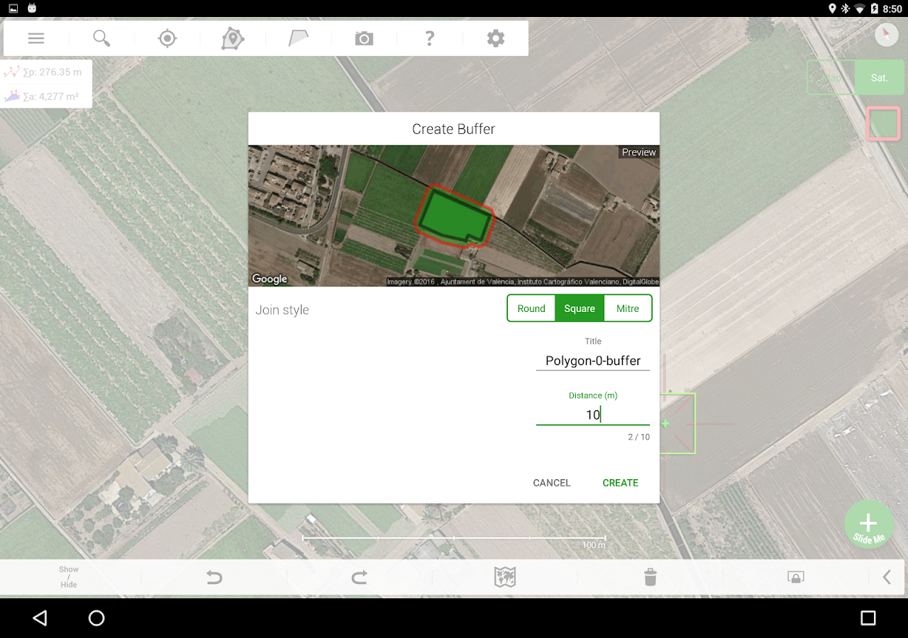Agro Measure Map Pro Screenshot 3