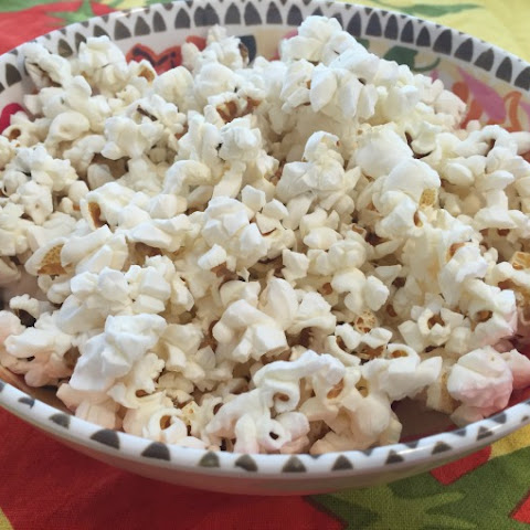 Popcorn with Coconut Oil and Himalayan Salt + Comcast Xfinity