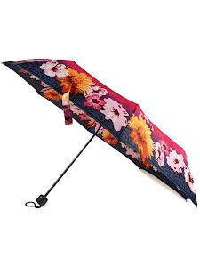 """Зонт """"Компакт S"""", темно-синий, розовый"""