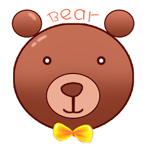 Colorful Cartoon Bear