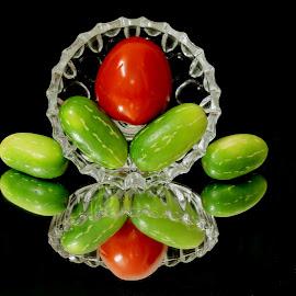 Veg flower  by SANGEETA MENA  - Food & Drink Fruits & Vegetables