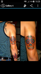 Sugar Skull Tattoo - screenshot