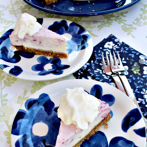 Blueberry and Lemon Cheesecake