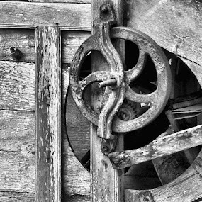 by Cal Brown - Artistic Objects Industrial Objects ( bangkok, industrial, black and white, thailand, artistic objects,  )