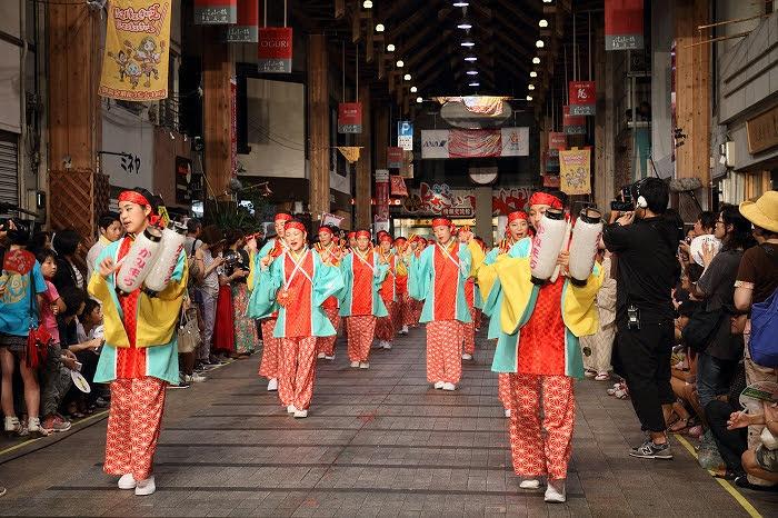 第61回よさこい祭り☆本祭2日目・はりまや橋競演場27☆上1目1443