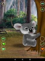 Screenshot of Talking Koala Bear