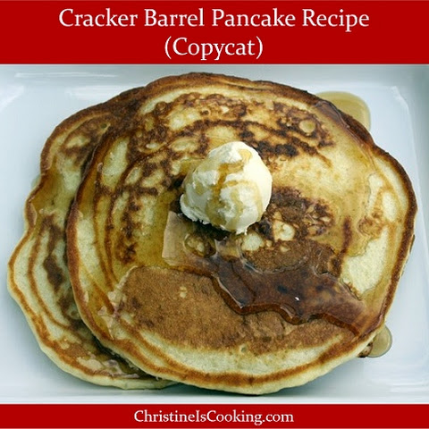 Cracker Barrel Pancakes (copycat recipe)