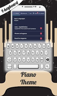 Piano Theme Photo Keyboard - screenshot