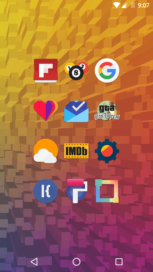 Askarp - Icon Pack Screenshot 2
