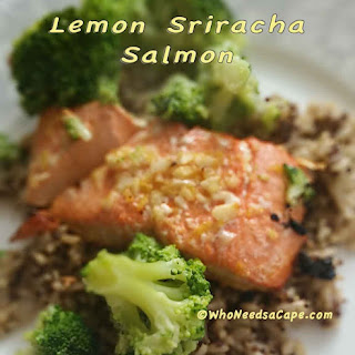 Lemon Sriracha Salmon