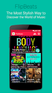 FlipBeats - Beste Musik-Player Screenshot