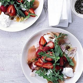 Strawberry Salad Mozzarella Recipes