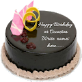 Write Name On cake Birthday